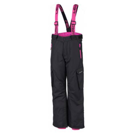 Lewro HRISCO ružová - Detské snowboardové nohavice