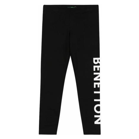 UNITED COLORS OF BENETTON Legíny  čierna / biela