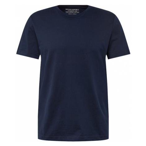 Banana Republic Tričko 'AUTHENTIC CREW'  námornícka modrá