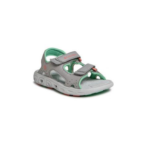 Columbia Sandále Childrens Techsun Vent BC4566 Sivá