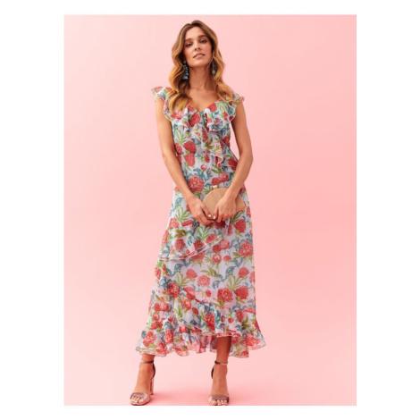 Květinové maxi šaty Top Secret