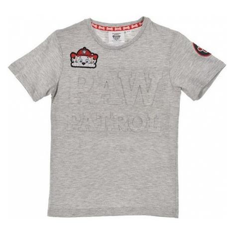 Tlapková patrola sivé tričko pre chlapcov