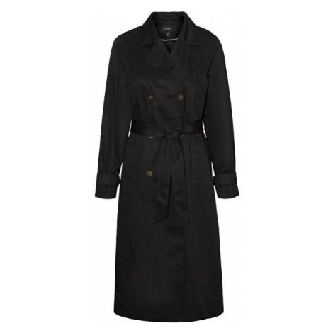 Vero Moda Dámsky kabát VMMUNICH trenchcoat Black