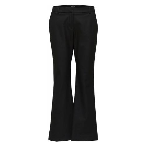 SELECTED FEMME Nohavice  čierna