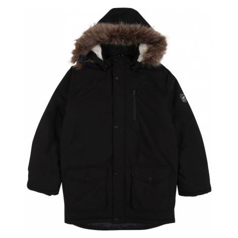 NAME IT Prechodná bunda 'MIBIS'  čierna / hnedá