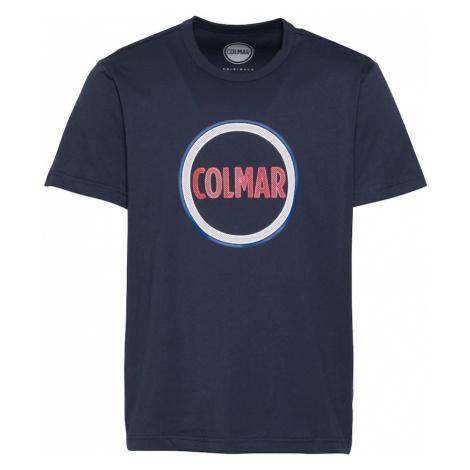 Colmar Tričko  modrá / námornícka modrá / červená / biela