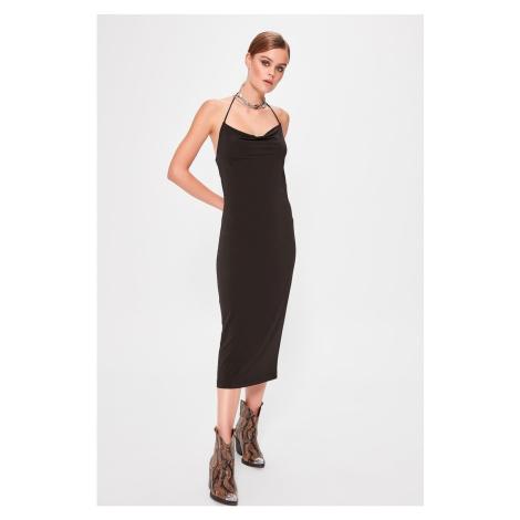 Trendyol Black Degaje Dress
