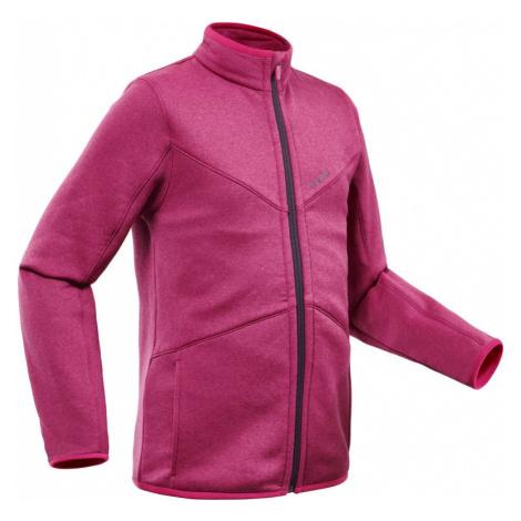 WEDZE Detská lyžiarska spodná bunda 900 ružová RUŽOVÁ 6 ROKOV