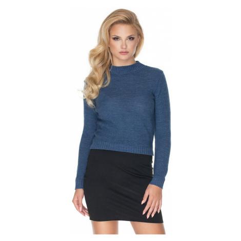 Modrý pulóver 70016 PeeKaBoo