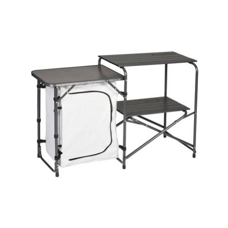 Skladacia stole / Kuchynka Husky moky strieborná