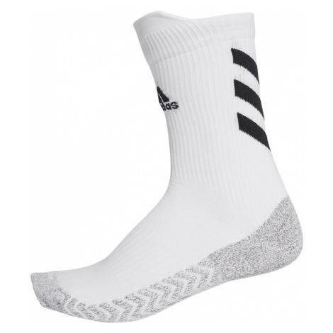ADIDAS PERFORMANCE Športové ponožky  sivá / biela / čierna