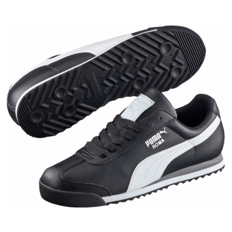 Puma Boty Roma Basic Black-White-Silver