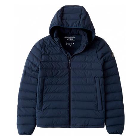 Abercrombie & Fitch Prechodná bunda  námornícka modrá