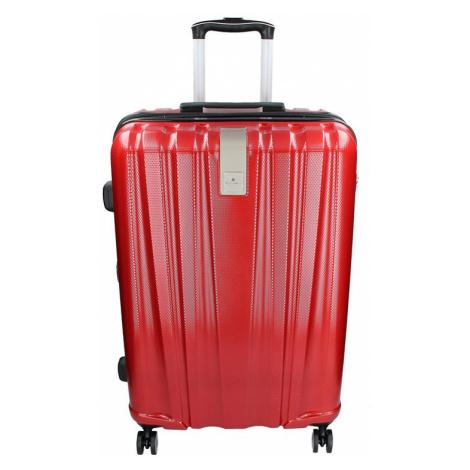 Cestovný kufor Snowball Lada M - tmavo červená