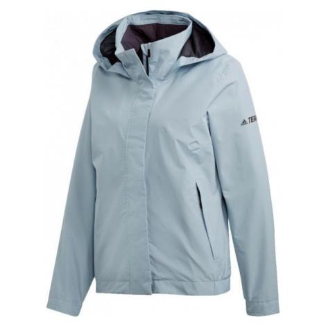 adidas W AX ENTRY JACKET modrá - Dámska outdoorová bunda