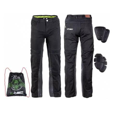 Pánske moto nohavice W-TEC Raggan Farba čierna